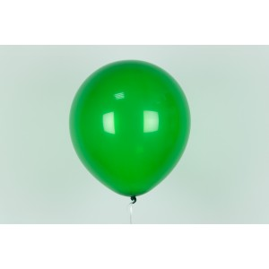 "Гелиевый шар зеленый 12"" (30 см)"