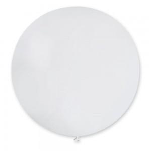 Шар гигант белый