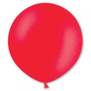 Шар гигант красный