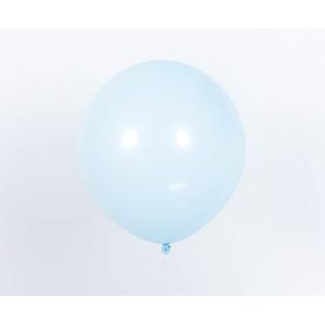 "Гелиевый шар светло-голубой макарун 12"" (32 см)"
