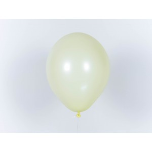 "Гелиевый шар лимонно-желтый макарун 12"" (32 см)"