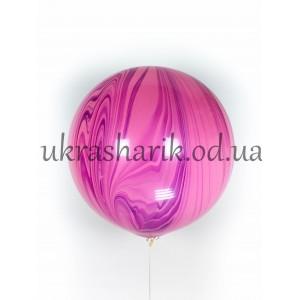 Многоцветные мраморные шары-гиганты Super Agate