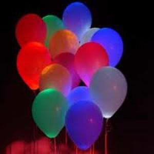 Светящиеся шарики 12 дюймов