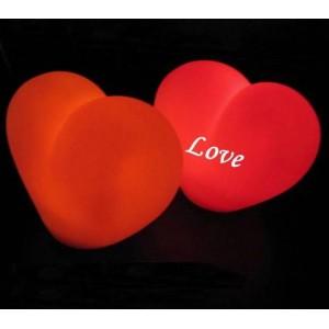 Светящиеся сердца 17 дюймов
